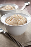 Risotto with black truffle Royalty Free Stock Photo