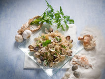 Risotto with clam Royalty Free Stock Photography