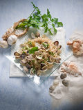 Risotto with clam Royalty Free Stock Photos