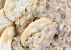 Risotto Crackers Close Stock Photography