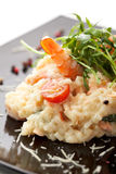 Risotto de fruits de mer Photos stock
