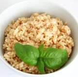 Risotto. A fresh italian risotto with cheese Royalty Free Stock Image