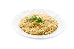 Risotto with Grana Parmesan Cheese Royalty Free Stock Image