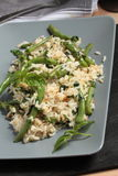 Risotto with green beans and basil Royalty Free Stock Image