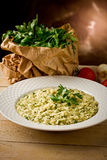 Risotto with Herbs Royalty Free Stock Photo