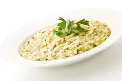 Risotto with Herbs Stock Image