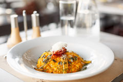 Risotto with meat Stock Photos