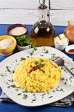 Risotto milanese Royalty Free Stock Photo