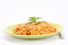 Risotto mit Tomaten Lizenzfreies Stockfoto