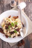 Risotto with mushroom Stock Photography