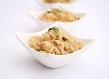 Risotto with mushrooms. A fresh risotto with mushrooms Stock Images