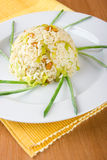 Risotto with peanuts Royalty Free Stock Photography