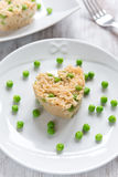 Risotto with peas Royalty Free Stock Images