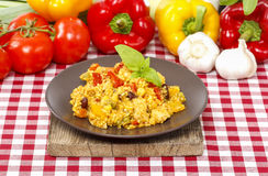 Risotto, popular italian dish Stock Photo