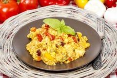 Risotto, popular italian dish Royalty Free Stock Photo
