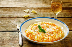 Risotto with pumpkin Royalty Free Stock Photos