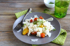 Risotto with roasted tomatoes Stock Images
