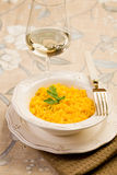 Risotto with saffron Stock Photo