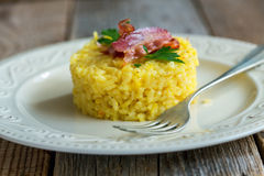 Risotto with saffron. Stock Images