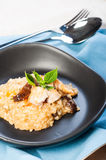 Chicken mushroom risotto Stock Image