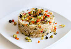 Risotto végétal photos stock