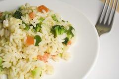 risotto vegatable Zdjęcie Royalty Free
