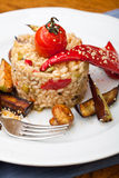 Risotto with vegetable Stock Photography
