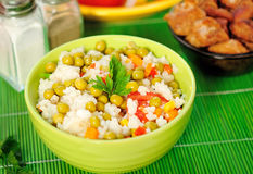 Risotto with vegetable Royalty Free Stock Images