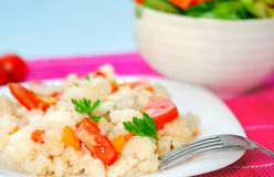 Risotto with vegetable Royalty Free Stock Image