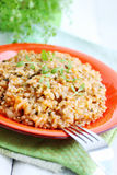 Risotto with watercress Stock Images