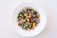 Risotto with wild rice Royalty Free Stock Image