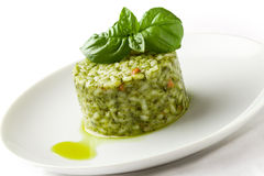 Risotto With Basil Royalty Free Stock Photography