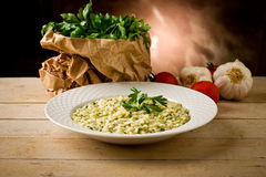 Risotto With Herbs Royalty Free Stock Photos