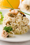 Risotto With Seafood Royalty Free Stock Photo
