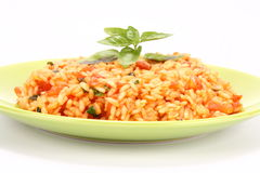 Risotto With Tomatoes Royalty Free Stock Images
