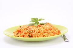 Risotto With Tomatoes Royalty Free Stock Photo