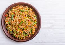 Risotto With Vegetables Stock Photos