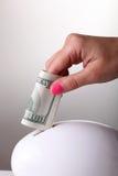 Risparmi i soldi Immagine Stock Libera da Diritti