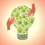 Risparmi l'energia illustrazione di stock