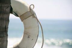 Risparmiatore di vita della spiaggia Immagini Stock