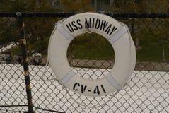 Risparmiatore di vita intermedio di USS immagine stock
