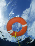 Risparmiatore di vita subacqueo Fotografie Stock