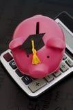 Risparmio calcolatore di formazione Immagini Stock Libere da Diritti