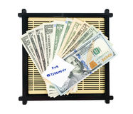 Risparmio dei soldi per il pensionamento Fotografie Stock Libere da Diritti