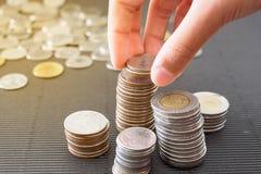 Risparmio della moneta Immagine Stock Libera da Diritti