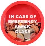 Risparmio di emergenza Fotografie Stock