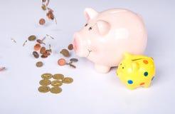 Risparmio di Lucky Pig Immagini Stock Libere da Diritti