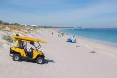 Risparmio di Spuma-vita alla spiaggia di Coogee Immagini Stock