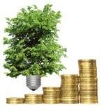 Risparmio di temi di technologie ambientale, concetto Immagine Stock