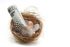 Risparmio e sogni personali Immagine Stock